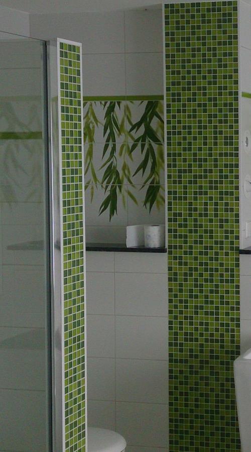 Bilder-Galerie und Inspirationen für Badezimmer und Mosaik