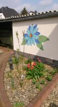 Mosaik Jupe Blume
