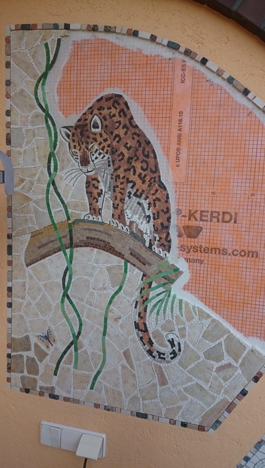 Ihr FLIESEN- PLATTEN & MOSAIKLEGERMEISTER Torsten Jupe. Mosaik Wandbild Leo37