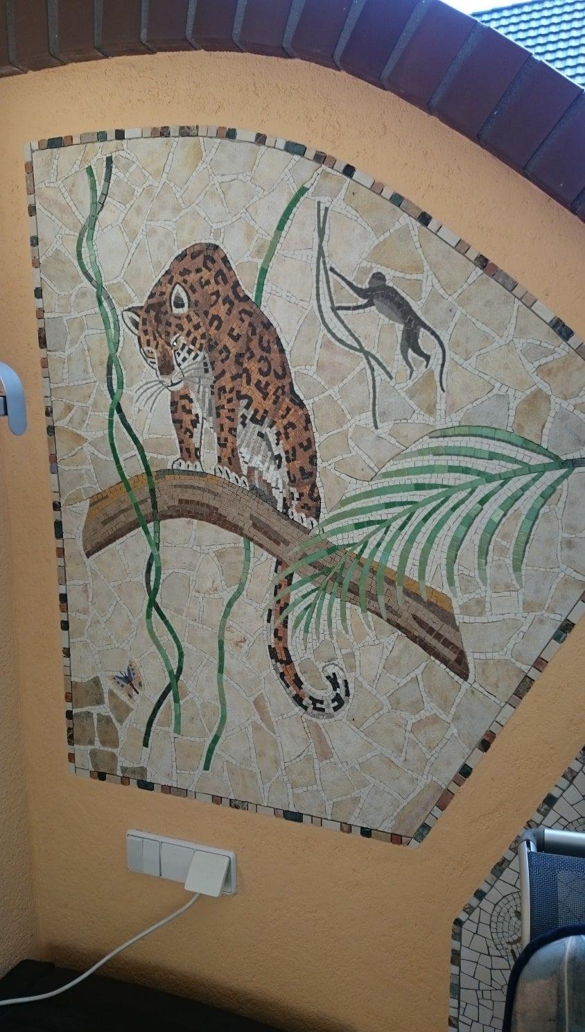 Ihr FLIESEN- PLATTEN & MOSAIKLEGERMEISTER Torsten Jupe. Mosaik Wandbild Leo39